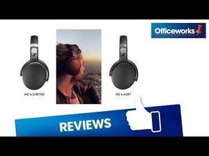 Sennheiser BTNC Wireless Headphones Black HD 4 50