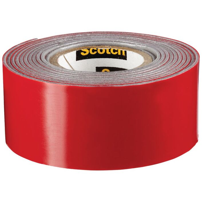 scotch permanent outdoor mounting tape 25 4mm x 1 51m officeworks