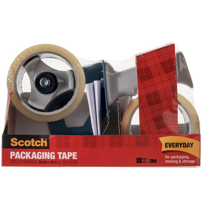 Scotch BPS 1 Dispenser And 2 Tape Rolls