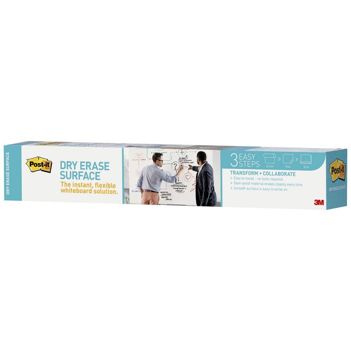 post it dry erase surface adhesive 900 x 600mm officeworks