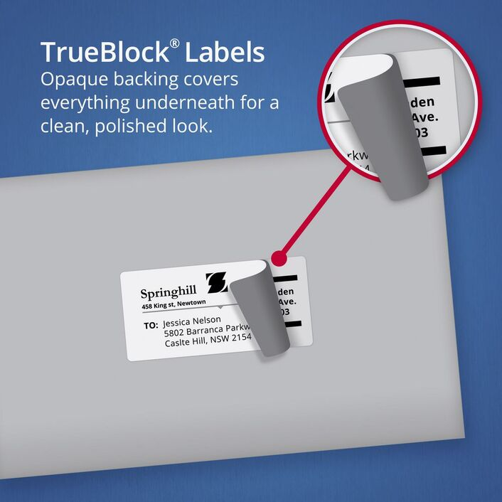 avery internet shipping labels 4 per page 10 pack officeworks