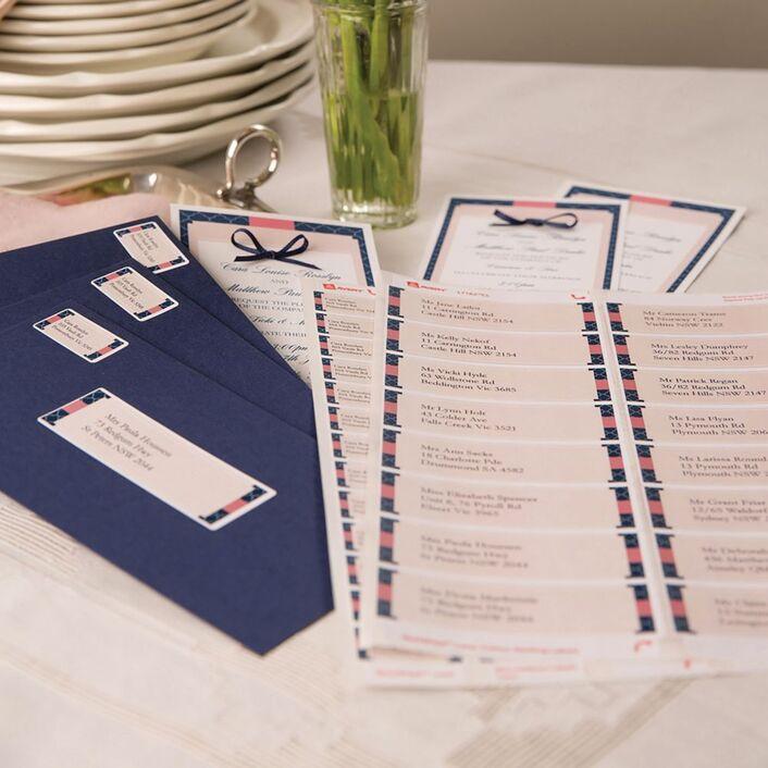 avery matte white address labels kit 258 pack officeworks
