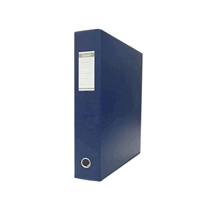 bantex binder a3 4 d ring 38mm portrait pvc blue officeworks