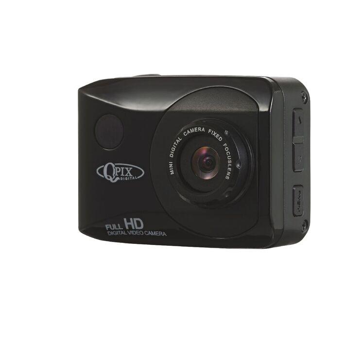 Qpix Full HD Action Camera | Officeworks