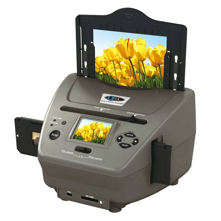 QPIX Photo Standalone Film and Print Scanner | Officeworks