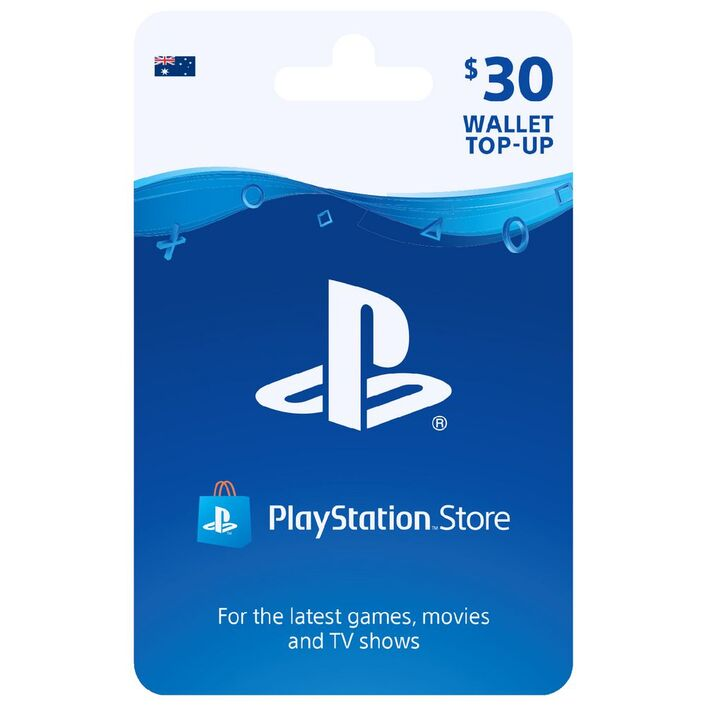 Sony Playstation Gift Card 30 Officeworks