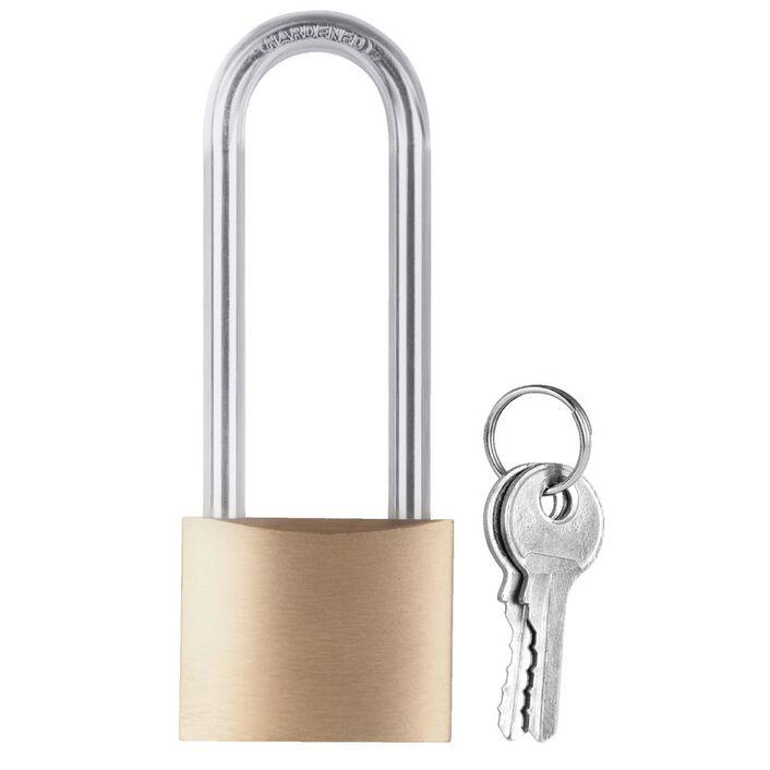 long shackle padlock 40mm officeworks