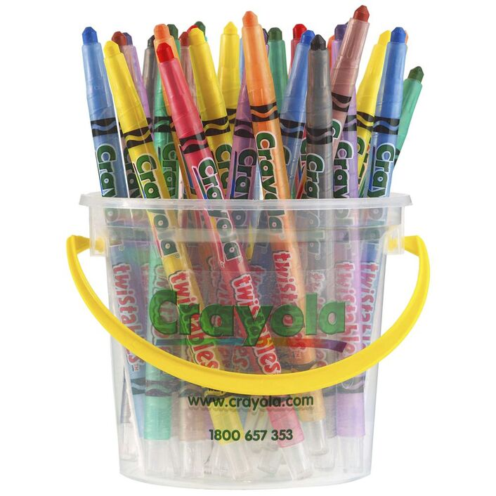 Crayola Twistable Crayons 32 Deskpack | Officeworks