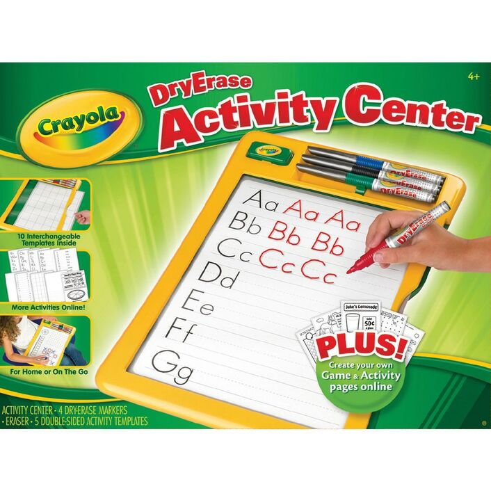 crayola dry erase activity centre officeworks