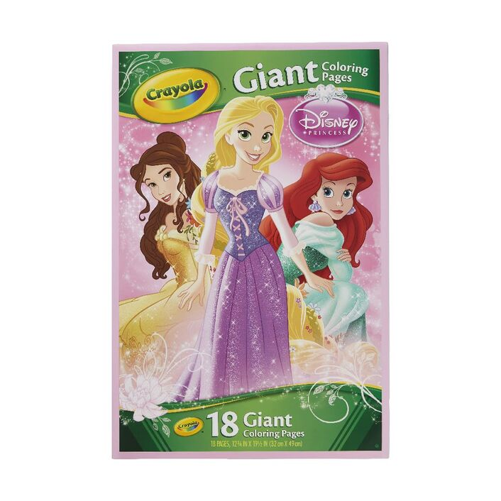 Crayola Giant Colouring Pages Disney Princess | Officeworks