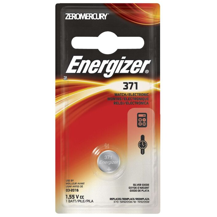Energizer 371370 Silver Oxide Button Battery Officeworks