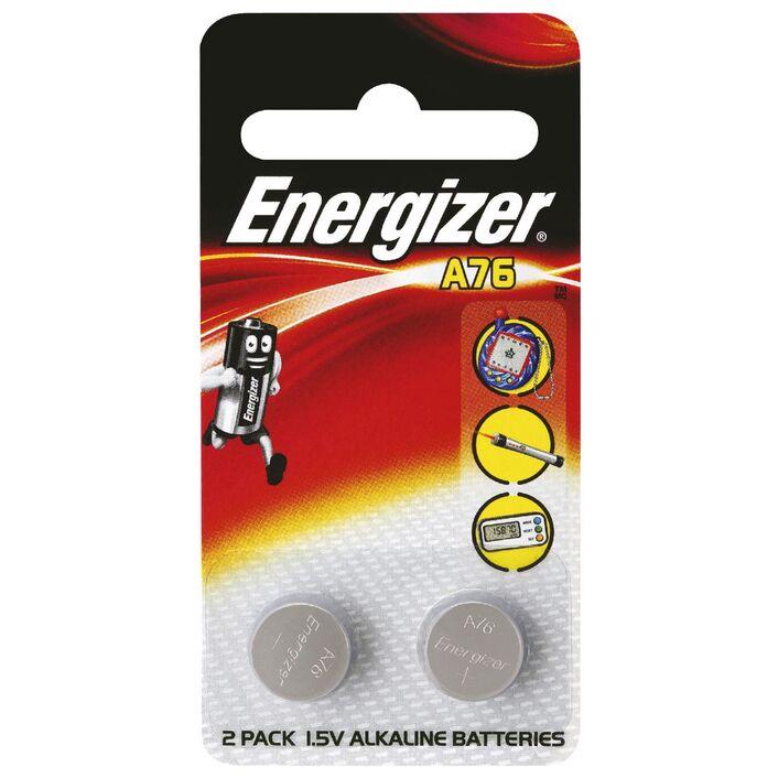 Energizer A76 Alkaline Button Batteries 2 Pack Officeworks