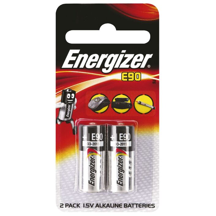 Energizer E90 N Batteries 2 Pack Officeworks