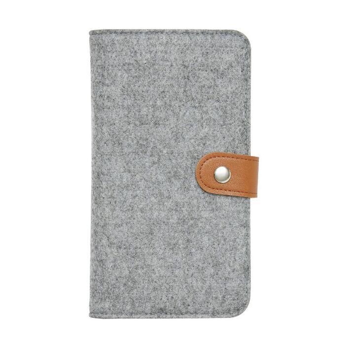 Otto Felt Business Card Folder Grey | Officeworks