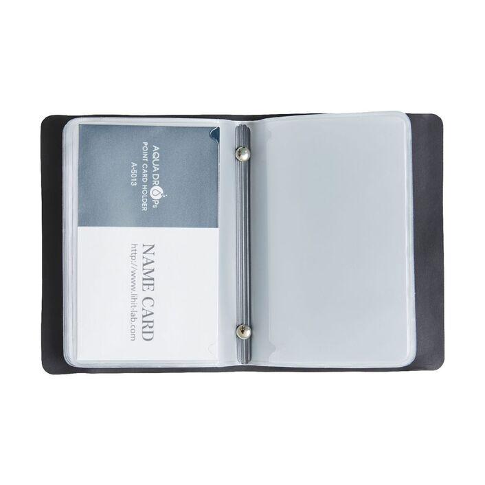 Ampersand mini business card holder black officeworks ampersand mini business card holder black colourmoves