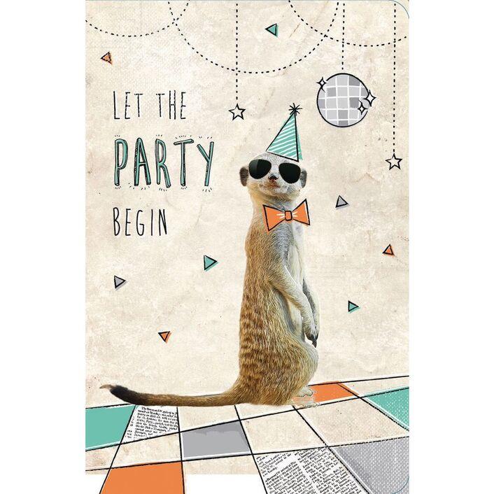 Frankly Funny Birthday Card Meerkat Officeworks