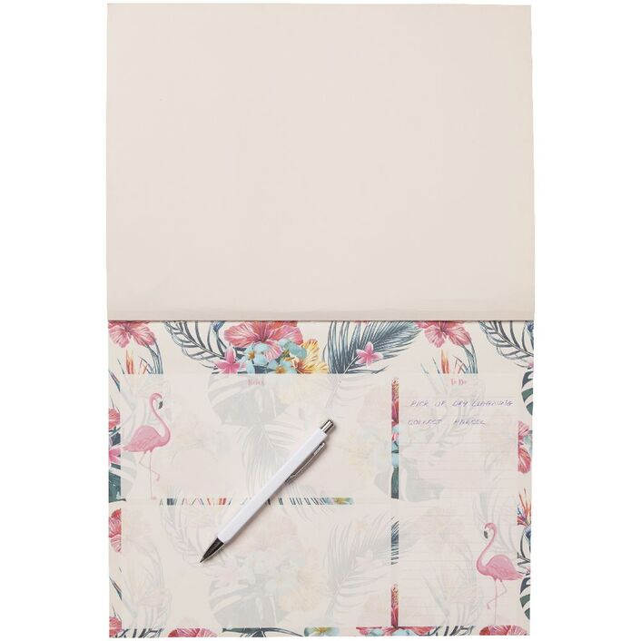 Studymate A4 Desk Planner Pad Flamingo Officeworks