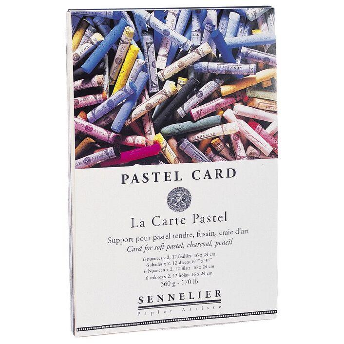 Sennelier La Carte Soft Pastel Pad 12 Sheets 250gsm 16 X 24cm