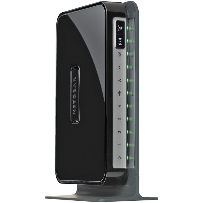 Netgear N300 Wireless Modem Router Black DGN2200 | Officeworks