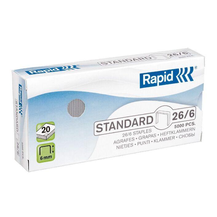 Rapid 266 Staples 5000 Pack Officeworks