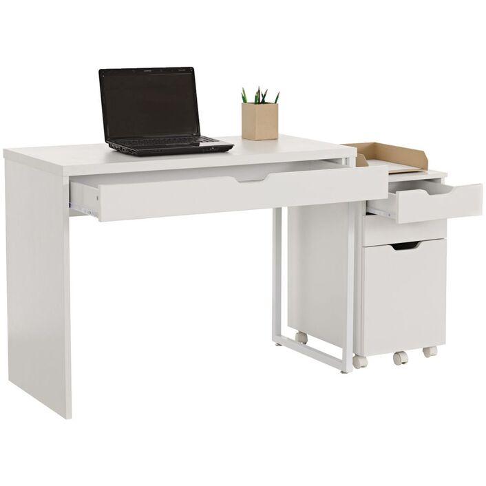 archie desk and pedestal officeworks