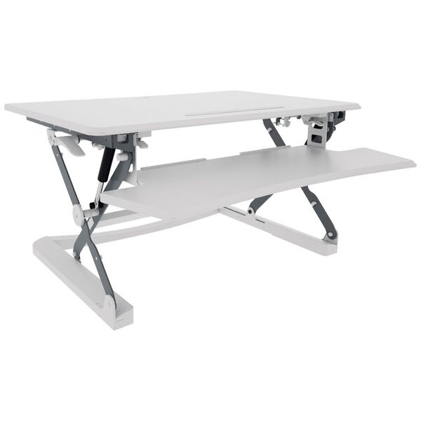 Professional Sit Stand Desk 890mm White Officeworks
