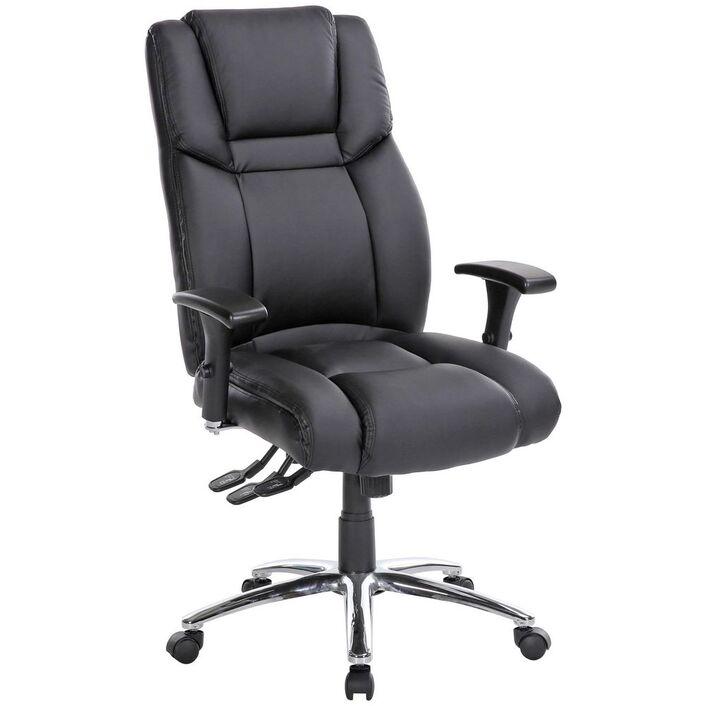 washington ergonomic chair black officeworks