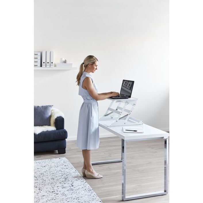 for ways in ergotron desk sitting multiple standing work to use the positions