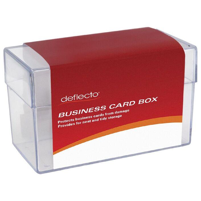 deflect-O Business Card Storage Box Large | Officeworks