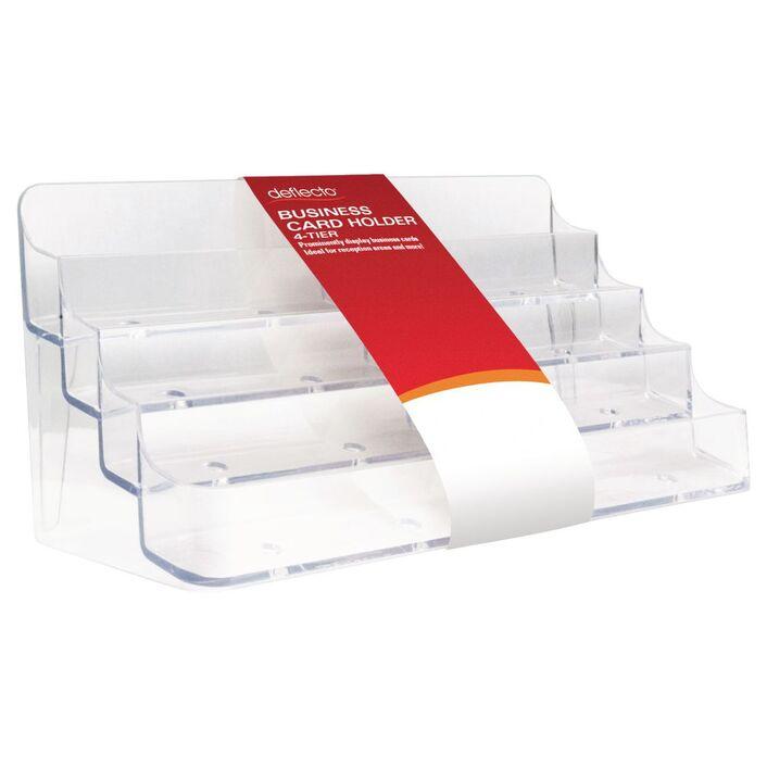 deflect-O 8 Pocket Business Card Holder Landscape | Officeworks