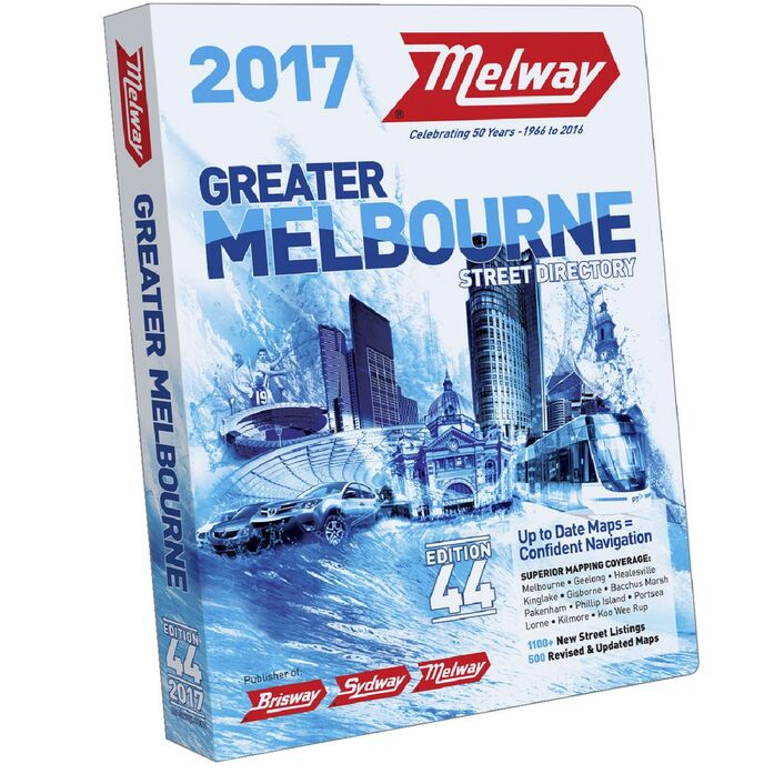 Melway Greater Melbourne Street Directory 2017 Edition 44