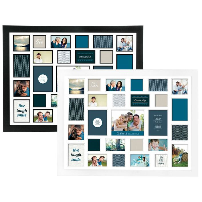 Galleria Frame with 27 Openings Assorted   Officeworks