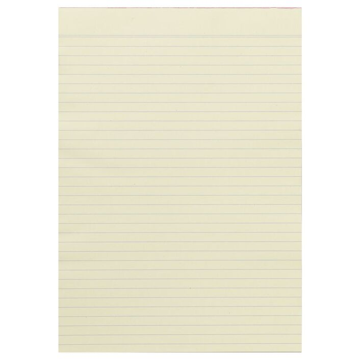 note ruled notepad yellow officeworks