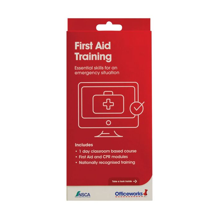 First Aid Training Officeworks
