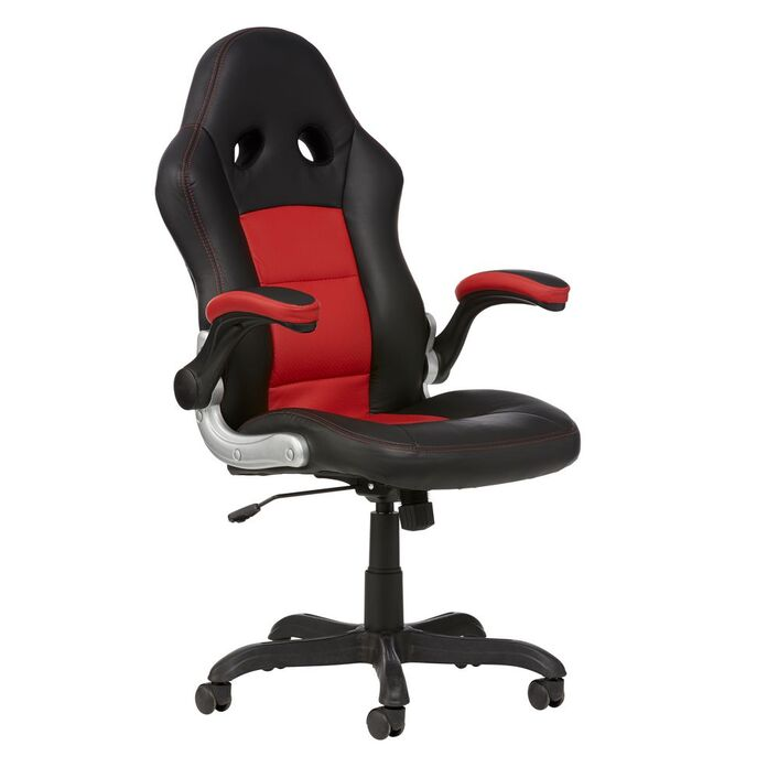bathurst chair red officeworks