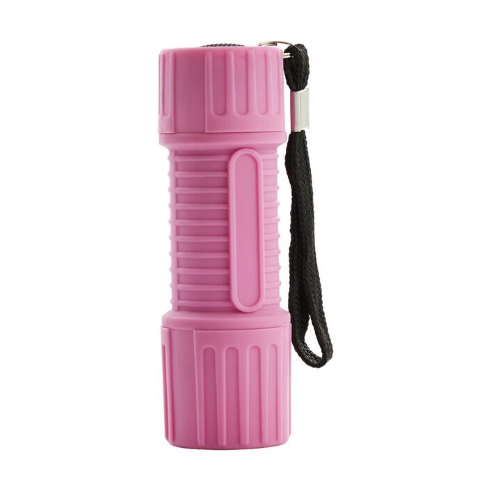 mini led torch pink officeworks