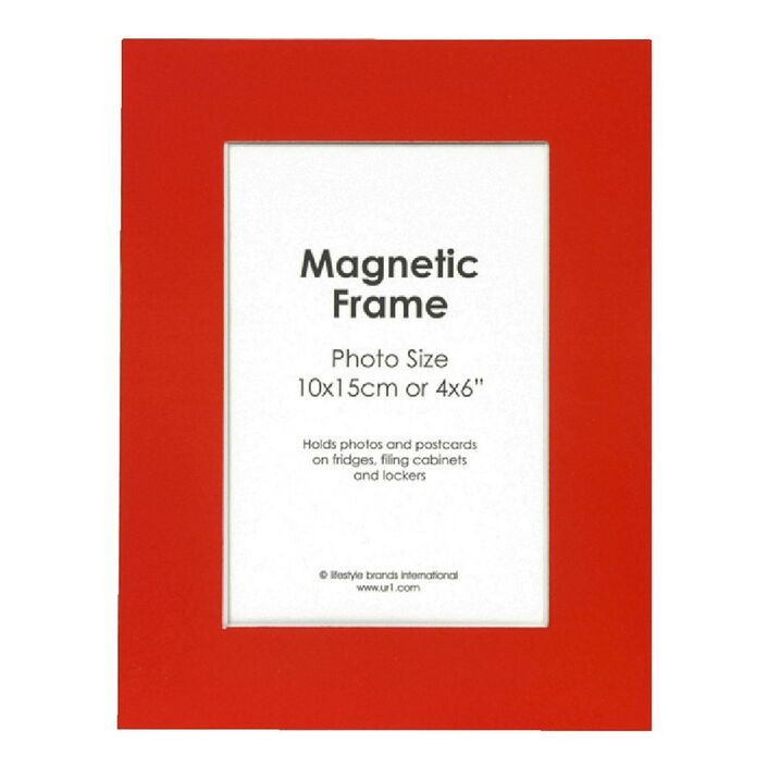 Magnetic Photo Frame 4 X 6 Assorted Colours Officeworks