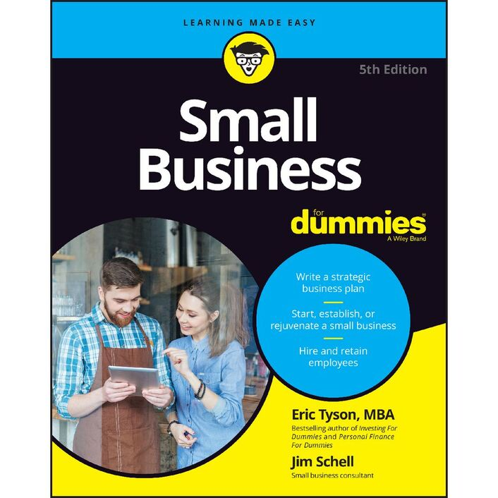 Small business for dummies—australia & new zealand national.