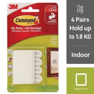Command Small Picture Hanging Strips Officeworks