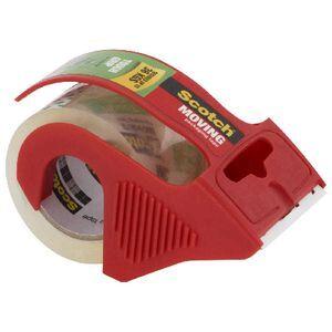 Scotch Tough Grip Moving Tape Dispenser 48mm X 20 3m Clear