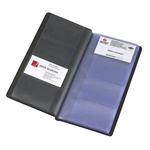 Marbig standard business card holder black officeworks marbig standard business card holder black colourmoves