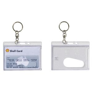 Rexel rigid card holder with key ring officeworks rexel rigid card holder with key ring reheart Images
