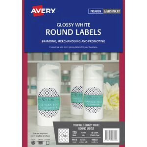 Avery print to the edge round labels glossy white 120 pack officeworks avery print to the edge round labels glossy white 120 pack reheart Choice Image