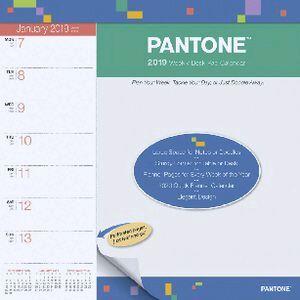 Brown Trout 2019 Weekly Desk Planner Pantone Officeworks
