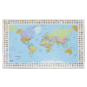 Bantex desk pad map of the world officeworks bantex desk pad map of the world gumiabroncs Images