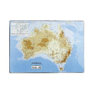 Bantex desk pad map of australia officeworks bantex desk pad map of australia gumiabroncs Gallery