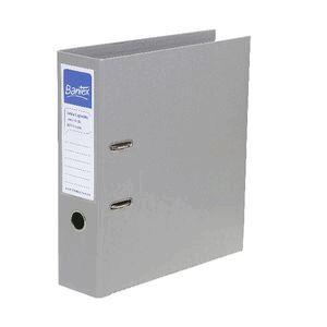 bantex a4 extra capacity 2 ring lever arch folder grey officeworks