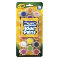 Kids poster paint officeworks washable crayola poster paints with brush 18 pack gumiabroncs Gallery