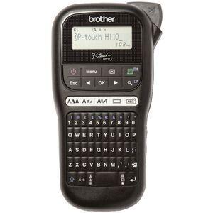 Brother P Touch Label Maker Black Pt H110 Officeworks