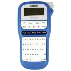 Brother P-touch Label Maker Blue PT-H110